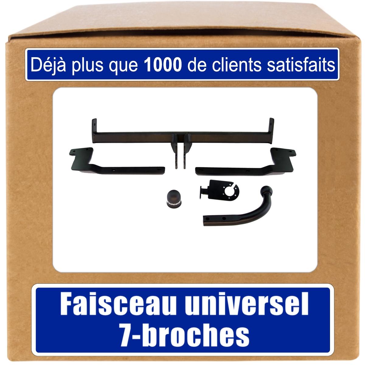 Peugeot-406-D8-D9-Break-99-04-Attelage-fixe-faisceau-7-broches-uni-Compl